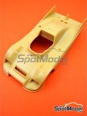 Renaissance Models: Bodywork 1/24 scale - Porsche 936 - resin parts - for Renaissance Models references 24-05 and 24/05