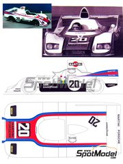 Renaissance Models: Model car kit 1/24 scale - Porsche 936 Martini #20 - 24 Hours Le Mans 1976 - resin multimaterial kit