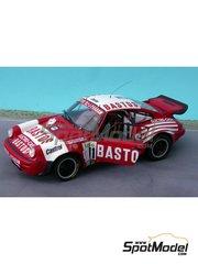 Renaissance Models: Model car kit 1/24 scale - Porsche 911 SCRS Bastos #11 - Patrick Snijers (BE) + Dany Colebunders (BE) - Ypres Rally 1984 - resin multimaterial kit