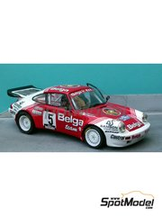 Renaissance Models: Model car kit 1/24 scale - Porsche 911 SCRS Belga Droogmans - Haspengow Rally 1984 - resin multimaterial kit