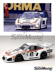 Renaissance Models: Model car kit 1/24 scale - Porsche 935 K3 Kremer Numero Reserve #41 - Klaus Ludwig (DE) + Don Whittington (US) + Bill Whittington (US) - 24 Hours Le Mans 1979 - resin multimaterial kit