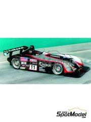 Renaissance Models: Model car kit 1/24 scale - Panoz Le Mans P Roadster-S #11, 12 - 24 Hours Le Mans 1999 - resin multimaterial kit