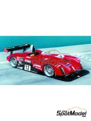 Renaissance Models: Model car kit 1/24 scale - Panoz Roadster-S Le Mans P2000 #11, 12 - 24 Hours Le Mans 2000 - resin multimaterial kit