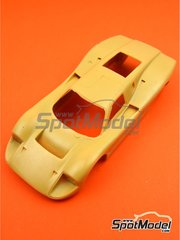 Renaissance Models: Bodywork 1/24 scale - Ford GT40 Mk IV - resin parts - for Renaissance Models references 24-16, 24/16, 24-16B and 24/16b