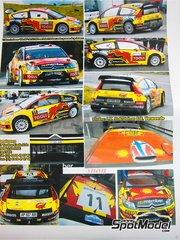 Renaissance Models: Model car kit 1/24 scale - Citroen C4 WRC #1, 2 - Petter Solberg (NO) + Chris Patterson (GB) - Alsace France Rally 2010 - resin multimaterial kit