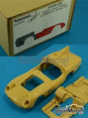 Renaissance Models: Model car kit 1/24 scale - Ferrari 250 TRI 60/61 0780 - IRTA Test 1960 and 1961 - Multimaterial kit
