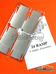 Renaissance Models: Detail 1/24 scale - Mechanic rally ramps - photo-etched parts - 4 units