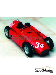Renaissance Models: Model car kit 1/43 scale - Lancia Ferrari D50 F1 #34 - Juan Manuel Fangio (AR) - Argentine Grand Prix 1956 - resin multimaterial kit
