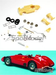 Renaissance Models: Model car kit 1/43 scale - Lancia Ferrari D50 Streamline - French Grand Prix - resin multimaterial kit