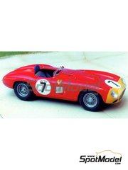 Renaissance Models: Model car kit 1/43 scale - Ferrari 857S #7, 19 - Alfonso de Portago (ES) + William 'Bill' Kimberley (US) - Sebring 1956 - resin multimaterial kit