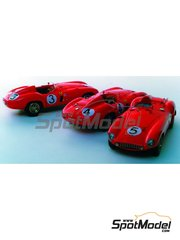 Renaissance Models: Model car kit 1/43 scale - Ferrari 121 Le Mans - 24 Hours Le Mans 1955 - resin multimaterial kit
