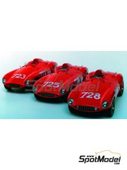 Renaissance Models: Model car kit 1/43 scale - Ferrari 121 Le Mans - Mile Miglia 1955 - resin multimaterial kit