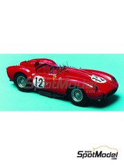 Renaissance Models: Model car kit 1/43 scale - Ferrari 250 Testa Rossa TR58 #12 - 24 Hours Le Mans 1958 - resin multimaterial kit