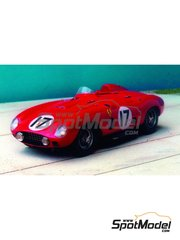 Renaissance Models: Model car kit 1/43 scale - Ferrari 860 Monza - Sebring 1956 - resin multimaterial kit