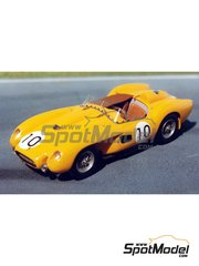 Renaissance Models: Model car kit 1/43 scale - Ferrari 250 Testa Rossa TR 57 customer - 24 Hours Le Mans 1958 and 1959 - resin multimaterial kit