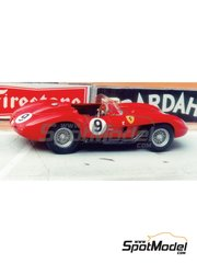 Renaissance Models: Model car kit 1/43 scale - Ferrari 250 Testa Rossa 0704 Proto #9 - 24 Hours Le Mans 1957 - resin multimaterial kit