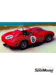 Renaissance Models: Model car kit 1/43 scale - Ferrari 250 Testa Rossa TR59 0768 #8 - Sebring 1960 - resin multimaterial kit