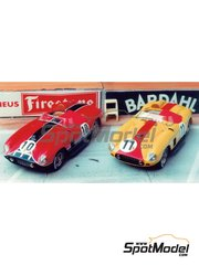 Renaissance Models: Model car kit 1/43 scale - Ferrari 290 MM #10, 11 - 24 Hours Le Mans 1957 - resin multimaterial kit