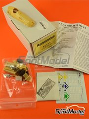 Renaissance Models: Model car kit 1/43 scale - Alfa Romeo Alfetta F1 158 - World Championship 1950 - resin multimaterial kit