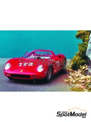 Renaissance Models: Model car kit 1/43 scale - Ferrari 250P - 1000 Kms Nürburgring, 12 Hours Sebring 1963 - resin multimaterial kit
