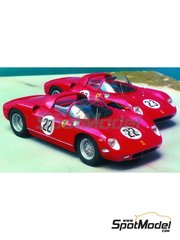 Renaissance Models: Model car kit 1/43 scale - Ferrari 275P - Sebring 1964 - resin multimaterial kit