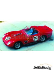 Renaissance Models: Model car kit 1/43 scale - Ferrari 250 Testa Rossa TR60/61 0780 - 12 Hours Sebring, Targa Florio 1961 - resin multimaterial kit