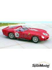 Renaissance Models: Model car kit 1/43 scale - Ferrari 250 Testa Rossa TR61 0792 #14 - Sebring 1961 - resin multimaterial kit