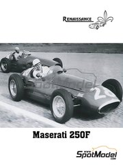 Renaissance Models: Model car kit 1/43 scale - Maserati 250F #1 - Stirling Moss (GB) - Belgian Grand Prix 1954 - resin multimaterial kit