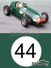 Renaissance Models: Model car kit 1/43 scale - Maserati 250F Gilby Engineering #44 - Roy Salvadori (GB) - ACF Grand Prix 1954 - resin multimaterial kit