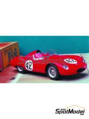 Renaissance Models: Model car kit 1/43 scale - Osca 750S Aerodinamico Laroche #42 - 24 Hours Le Mans 1958 - resin multimaterial kit