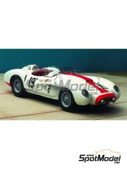 Renaissance Models: Model car kit 1/43 scale - Ferrari 500TR 0600MD #19 - Sebring 1959 - resin multimaterial kit
