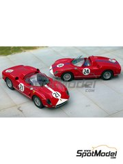 Renaissance Models: Model car kit 1/43 scale - Ferrari 330P64 - Sebring 1964 - resin multimaterial kit