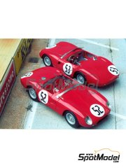 Renaissance Models: Model car kit 1/43 scale - Stanguellini EFAC #52, 53 - 24 Hours Le Mans 1956 - resin multimaterial kit