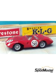 Renaissance Models: Model car kit 1/43 scale - Stanguellini EFAC #58 - 24 Hours Le Mans 1957 - resin multimaterial kit