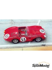 Renaissance Models: Model car kit 1/43 scale - Stanguellini EFAC #53 - 24 Hours Le Mans 1958 - resin multimaterial kit