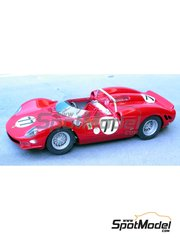 Renaissance Models: Model car kit 1/43 scale - Ferrari 330 P2 #77 - 24 Hours Daytona 1965 - resin multimaterial kit