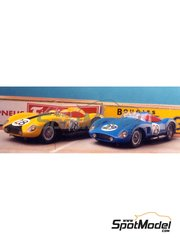 Renaissance Models: Model car kit 1/43 scale - Ferrari 500TR #28, 29 - 24 Hours Le Mans 1957 - resin multimaterial kit