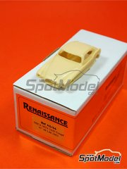 Renaissance Models: Model car kit 1/43 scale - Osca MT4 2AD Coupe #48 - 24 Hours Le Mans 1953 - resin multimaterial kit