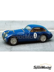 Renaissance Models: Model car kit 1/43 scale - Talbot Lago Grand Sport Coupe #1, 6 - André Chambas (FR) + André Morel (FR) - 24 Hours Le Mans 1949 and 1950 - resin multimaterial kit
