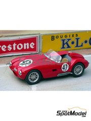 Renaissance Models: Model car kit 1/43 scale - Moretti 750S #47 - 24 Hours Le Mans 1956 - resin multimaterial kit
