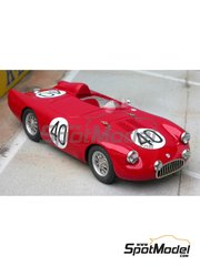 Renaissance Models: Model car kit 1/43 scale - Osca MT4 1500 Cabianca-Scorbati #40 - 24 Hours Le Mans 1955 - resin multimaterial kit