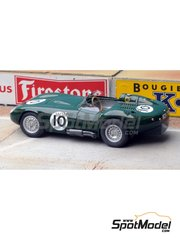Renaissance Models: Model car kit 1/43 scale - Lister Jaguar BHL5 #10 - 24 Hours Le Mans 1958 - resin multimaterial kit