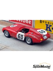 Renaissance Models: Model car kit 1/43 scale - Stanguellini 750 #60 - 24 Hours Le Mans 1955 - resin multimaterial kit