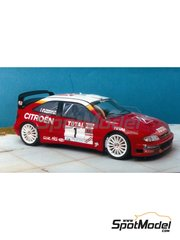 Renaissance Models: Model car kit 1/24 scale - Citroen Xsara T4 WRC - Philippe Bugalski (FR) 2000 - resin multimaterial kit