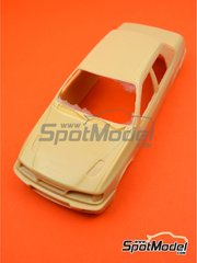Renaissance Models: Bodywork 1/24 scale - Ford Sierra Cosworth 4x4 Group A - resin parts - for Renaissance Models references CTR2424 and CTR2424/BODY