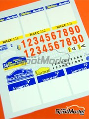 Renaissance Models: Decals 1/24 scale - Tour de Corse + Cataluña Rally 2002