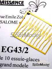 Renaissance Models: Detail 1/43 scale - Wiper blade - photo-etched parts - 10 units