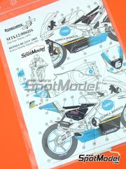 Renaissance Models: Marking / livery 1/12 scale - Honda RC211V Minolta - water slide decals and assembly instructions