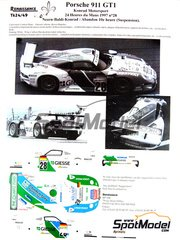 decals gt cars 24 hours le mans new products page 3 spotmodel. Black Bedroom Furniture Sets. Home Design Ideas