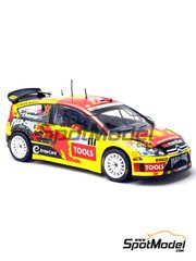 Decals 1/24 by Renaissance Models - Citroen C4 WRC Mad Croc - # 11 - Solberg - Alsace Rally 2010 for Heller kit 80756 image